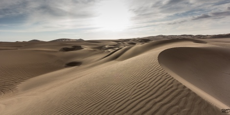The Ica desert, one of the driest climates on earth.